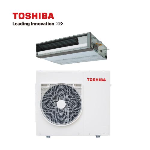TOSHIBA贝博技巧贝博DI系列变频风管机(一拖一:内机+外机)